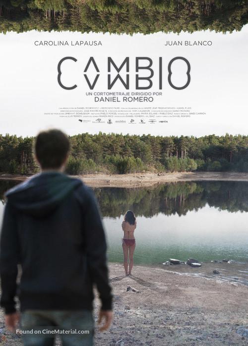 Cambio - Spanish Movie Poster