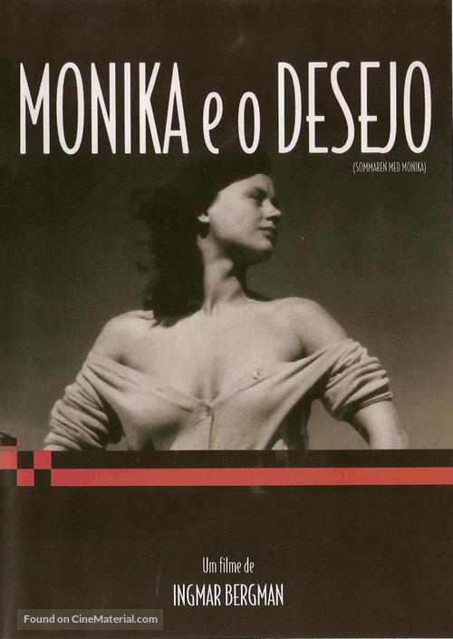 Sommaren med Monika - Brazilian DVD movie cover