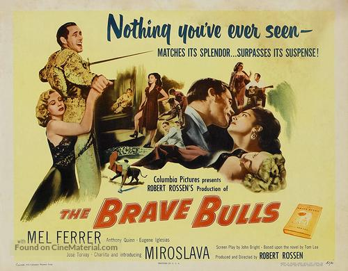 The Brave Bulls - Movie Poster