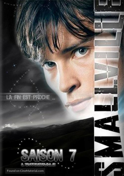 """Smallville"" - French Movie Cover"