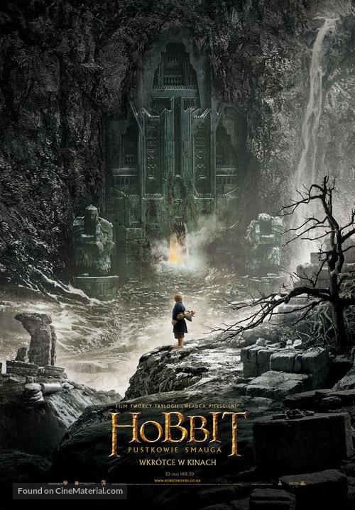 The Hobbit: The Desolation of Smaug - Polish Movie Poster