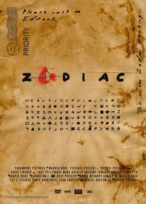 Zodiac - Romanian Movie Poster