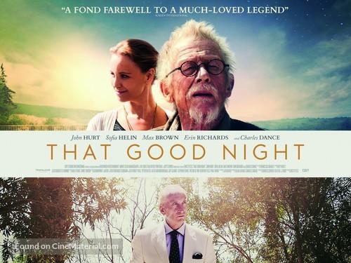 That Good Night - British Movie Poster