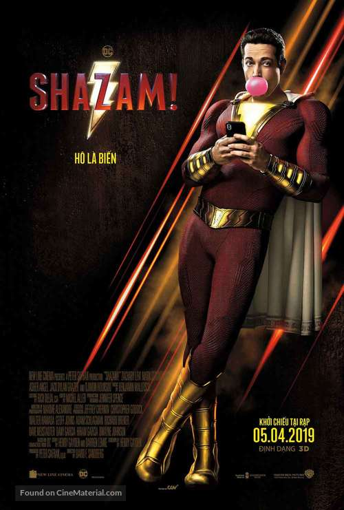 Shazam! - Vietnamese Movie Poster