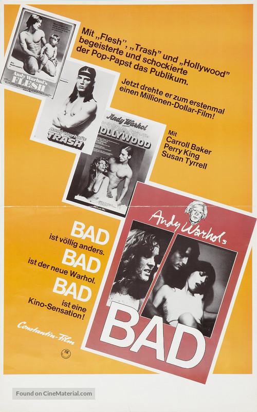 Bad - German Movie Poster