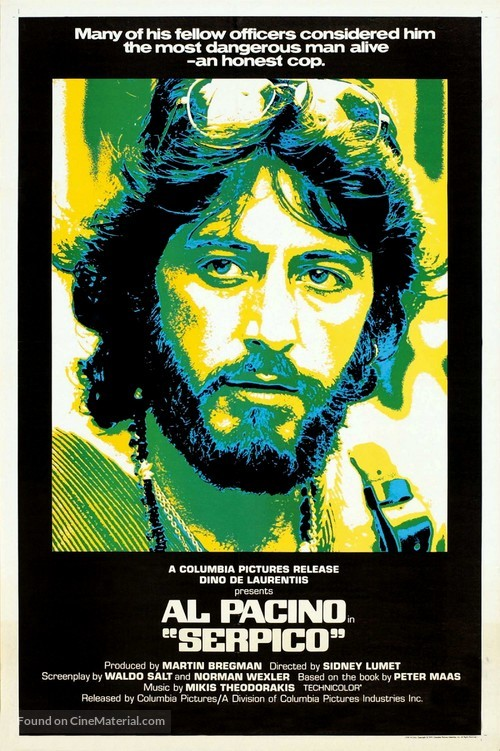 Serpico - Movie Poster