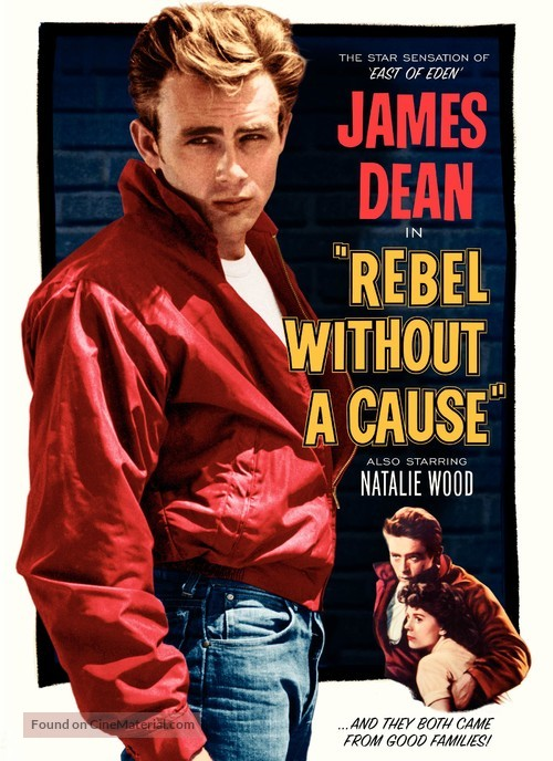 Rebel Without a Cause - Movie Cover