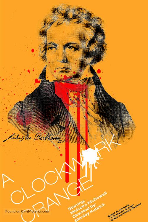 A Clockwork Orange - Homage poster