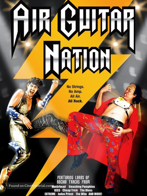 Air Guitar Nation - Canadian Movie Cover