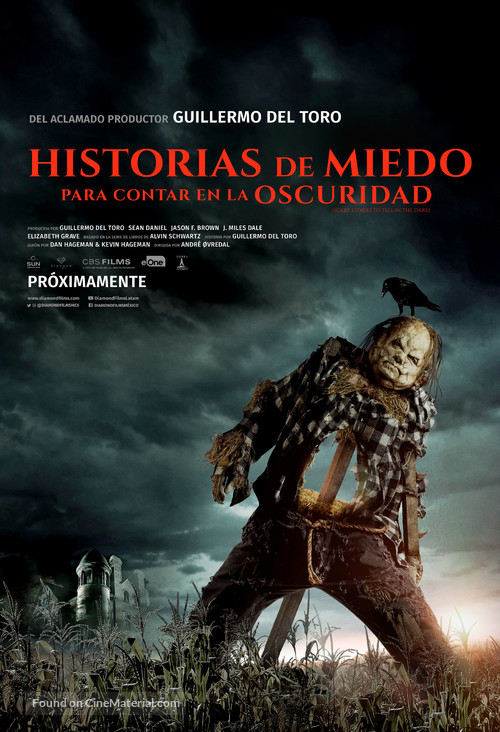 Scary Stories to Tell in the Dark - Mexican Movie Poster