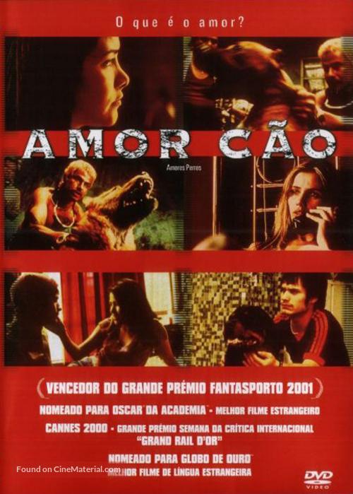 Amores Perros - Portuguese Movie Cover