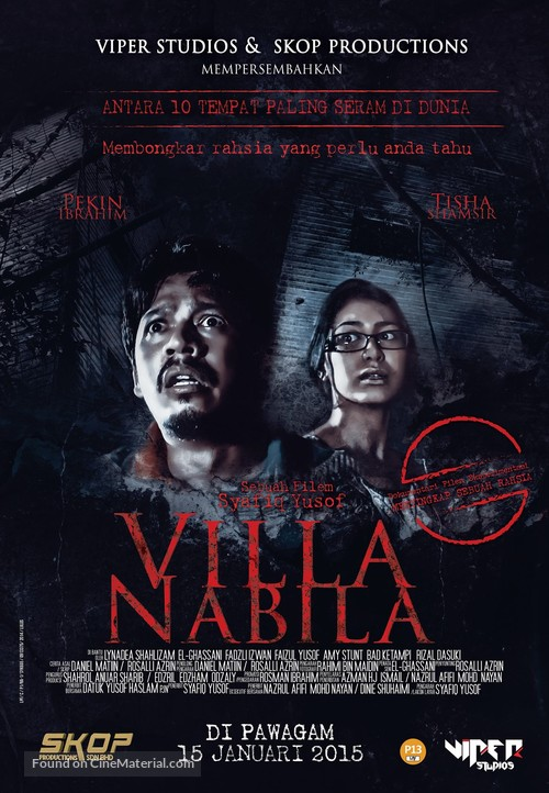 Villa Nabila - Indian Movie Poster