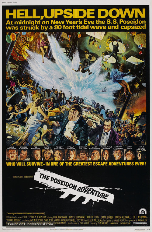 The Poseidon Adventure - Theatrical movie poster