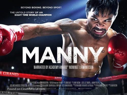 Manny - British Movie Poster