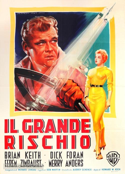 Violent Road - Italian Movie Poster