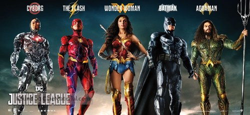 Justice League - Movie Poster