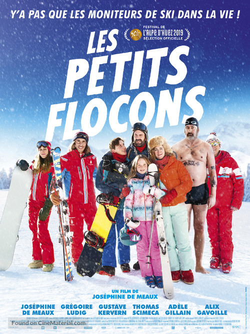 Les petits flocons - French Movie Poster