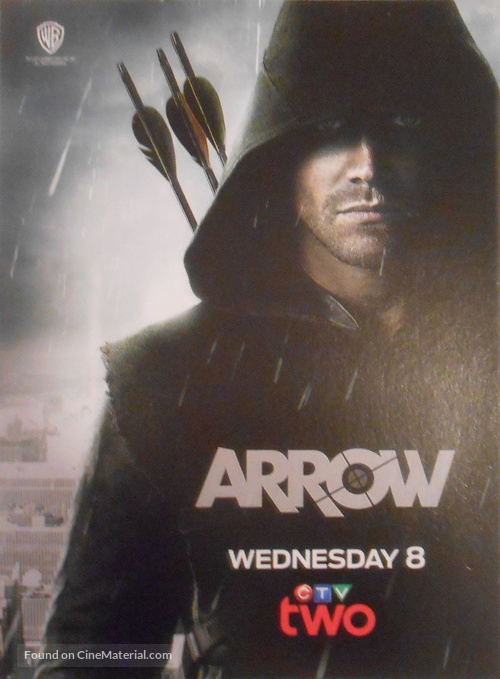 """Arrow"" - Canadian Movie Poster"