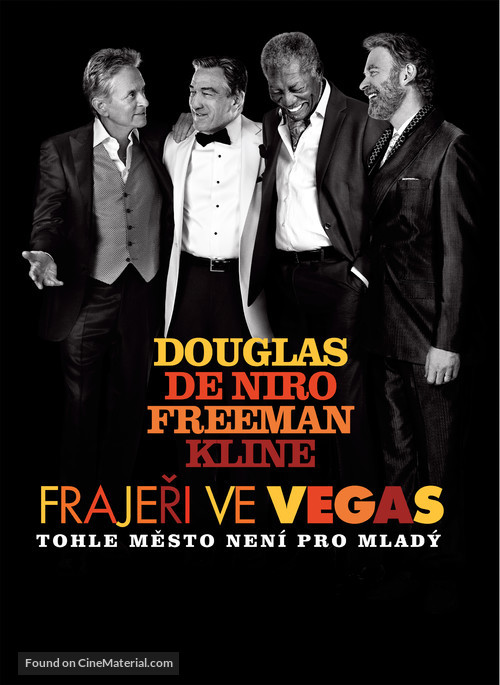 Last Vegas - Czech Movie Poster
