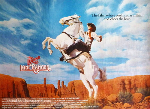 The Legend of the Lone Ranger - British Movie Poster