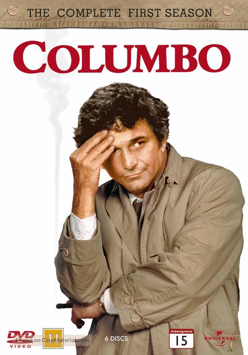"""Columbo"" - Norwegian DVD movie cover"