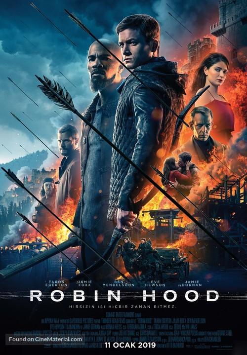 Robin Hood - Turkish Movie Poster