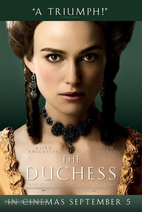 The Duchess - British Movie Poster