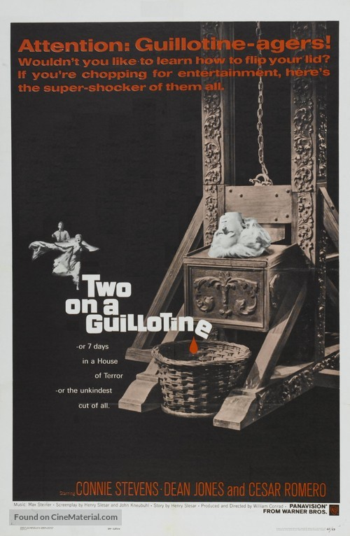 Two on a Guillotine - Movie Poster