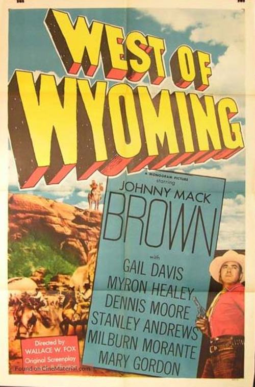 West of Wyoming - Movie Poster