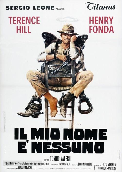 Il Mio Nome E Nessuno - Italian Theatrical poster