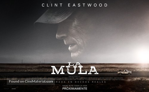 The Mule - Argentinian Movie Poster