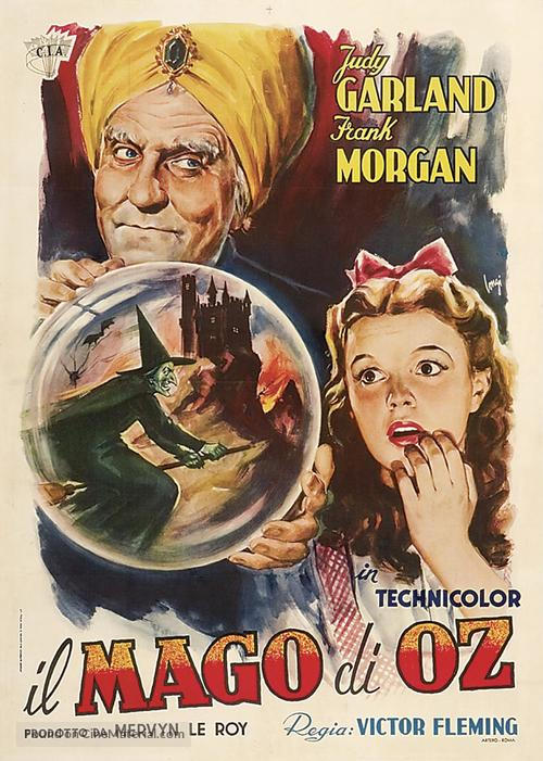 The Wizard of Oz - Italian Re-release movie poster