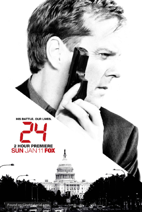 """24"" - Movie Poster"