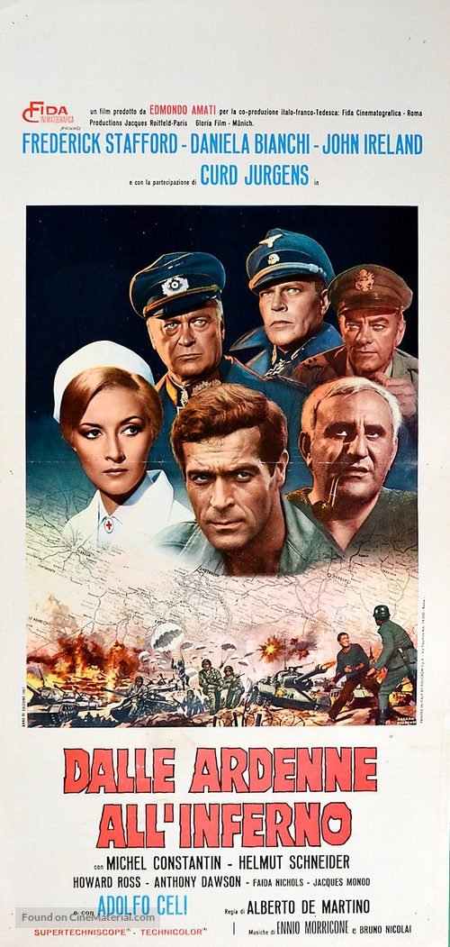 Dalle Ardenne all'inferno - Italian Movie Poster