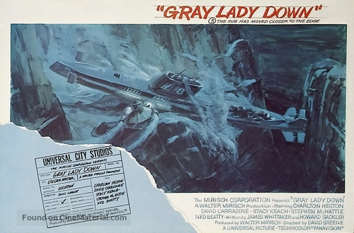 Gray Lady Down - Movie Poster