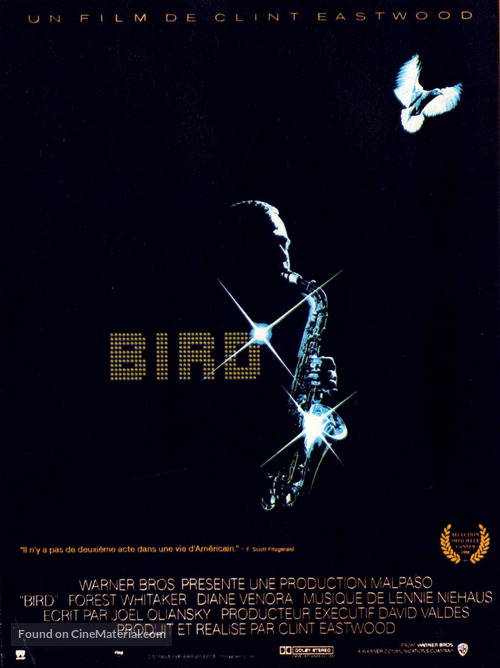 Bird - French Movie Poster