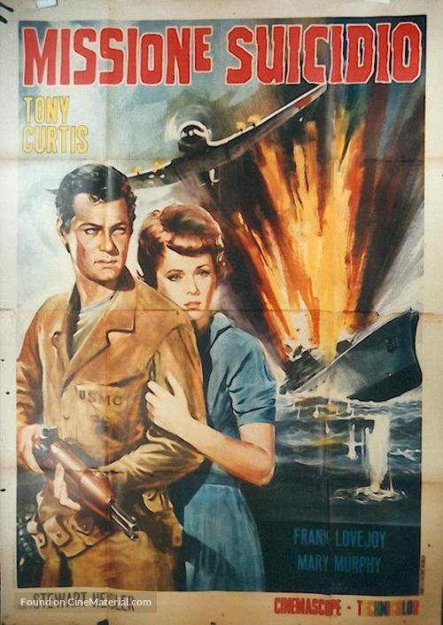 Beachhead - Italian Movie Poster