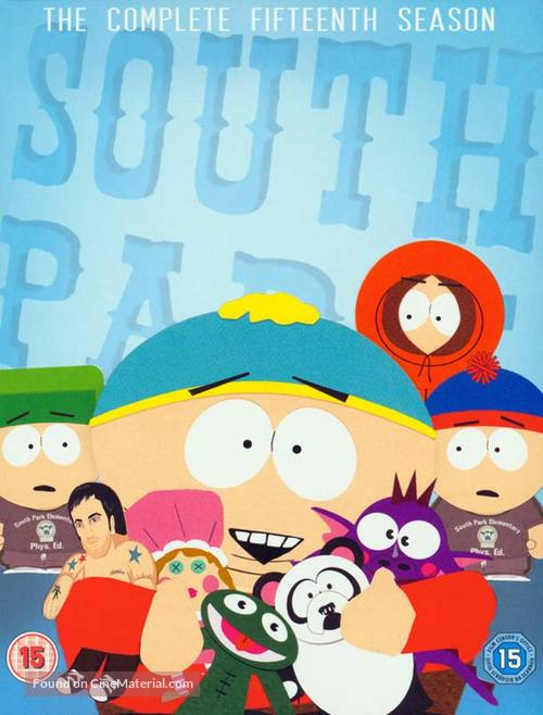 """""""South Park"""" - British Movie Cover"""
