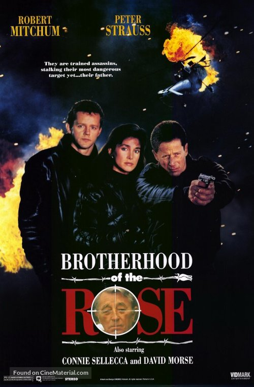 """""""Brotherhood of the Rose"""" - DVD movie cover"""