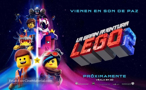 The Lego Movie 2: The Second Part - Argentinian Movie Poster