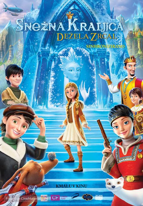 Snezhnaya koroleva. Zazerkale - Slovenian Movie Poster