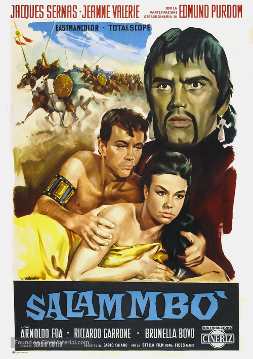 Salambò - Italian Movie Poster