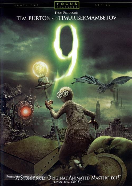 9 - DVD movie cover