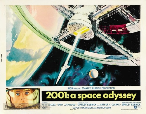 2001: A Space Odyssey - Movie Poster