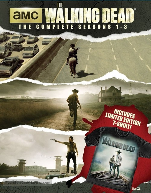 """""""The Walking Dead"""" - Blu-Ray movie cover"""