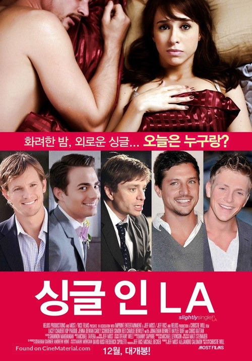 Slightly Single in L A  (2013) South Korean movie poster
