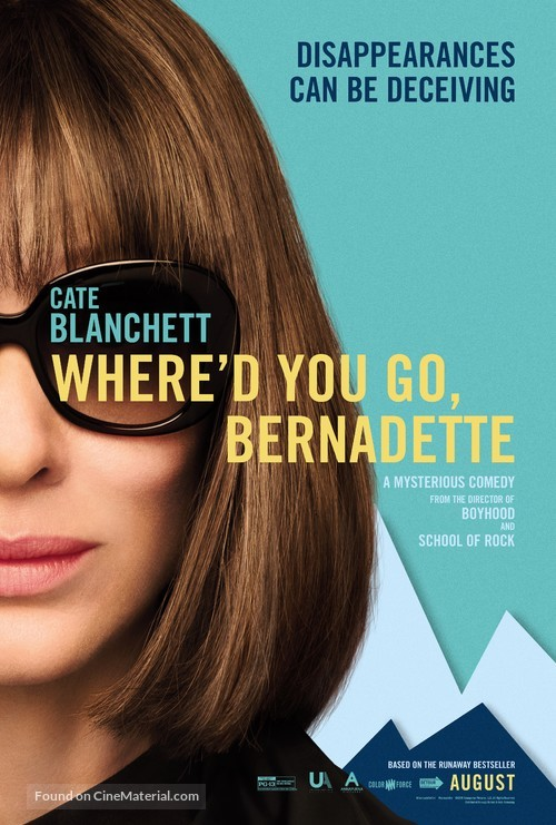 Where'd You Go, Bernadette - Movie Poster