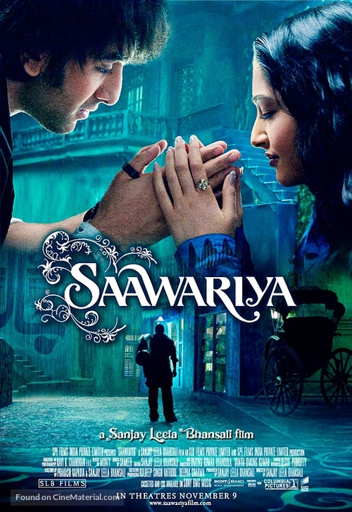 Saawariya - Indian Theatrical poster