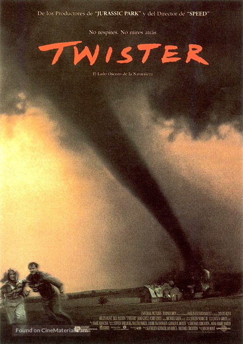 Twister - Spanish Movie Poster