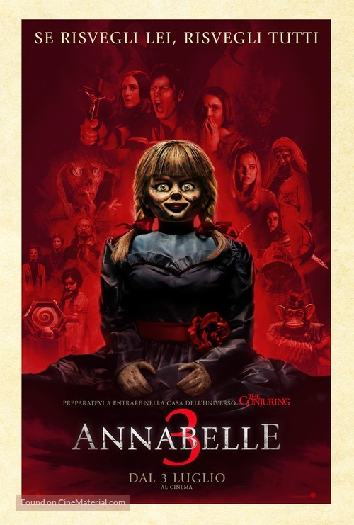 Annabelle Comes Home - Italian Movie Poster
